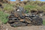 14_Stone_leaning_post_near_the_Heiau_was_6_feet_high